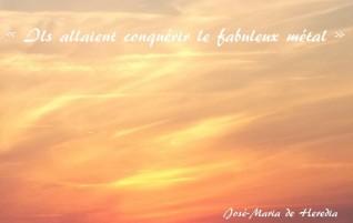 Les conquérants – Les trophées – Jose Maria de Heredia